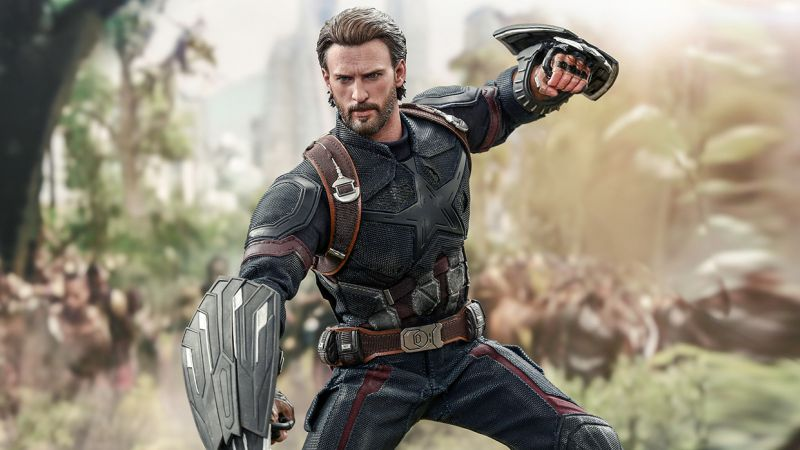 Infinity War Captain America Hot Toy revealed