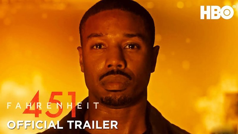 First Fahrenheit 451 Full Trailer Is Hot