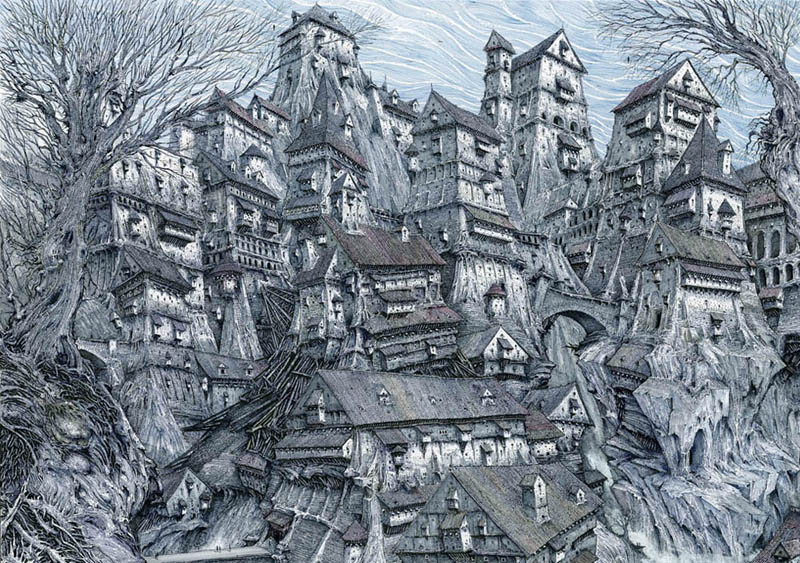 New Gormenghast Series Coming from Neil Gaiman & Akiva Goldsman