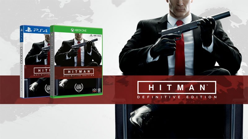 Hitman Definitive Edition Coming from Warner Bros. and IO