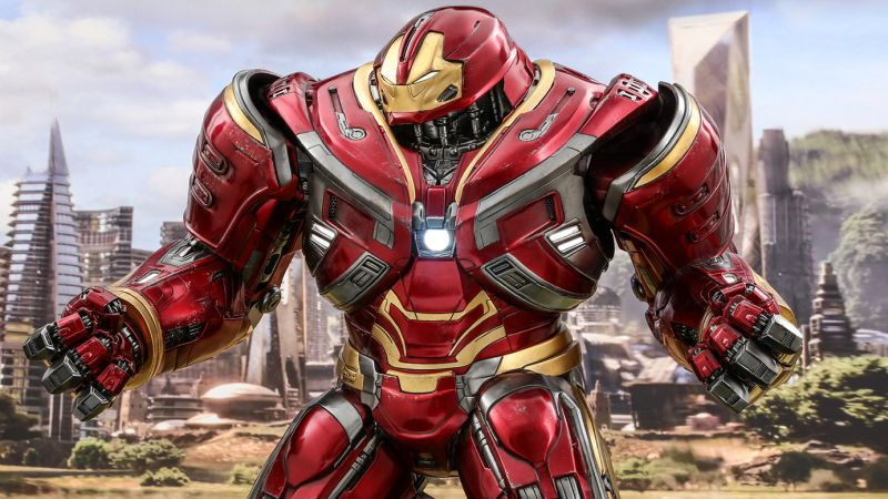 Hot Toys Hulkbuster Figure from Infinity War Revealed!