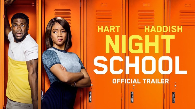 Watch hiliarious trailer for Kevin Hart and Tiffany Haddish movie 'Night School'