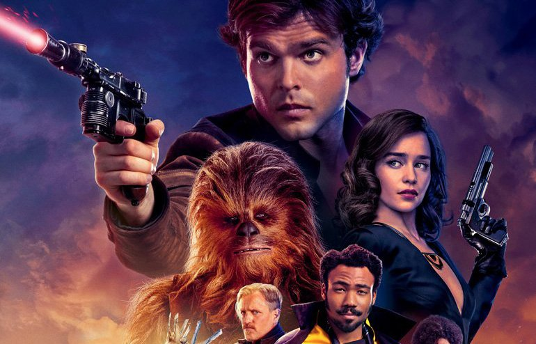 New International Solo Poster Reaches for the Stars