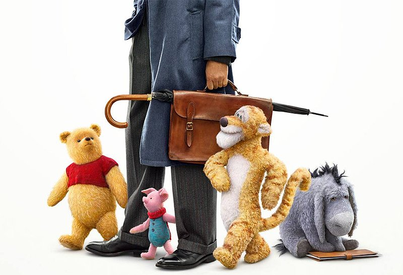 New Christopher Robin Poster Has an Abundance of Cute