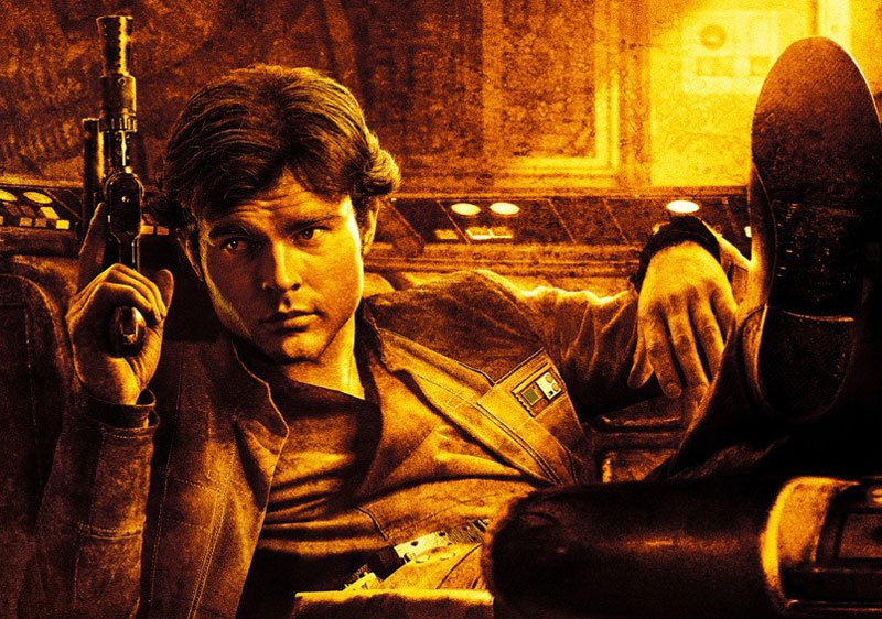 New Solo Clip and 3 New Posters Never Tell You the Odds
