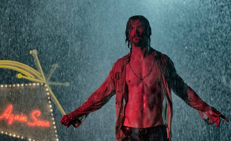 Chris Hemsworth is Caught in the Rain in Bad Times at the El Royale Photo
