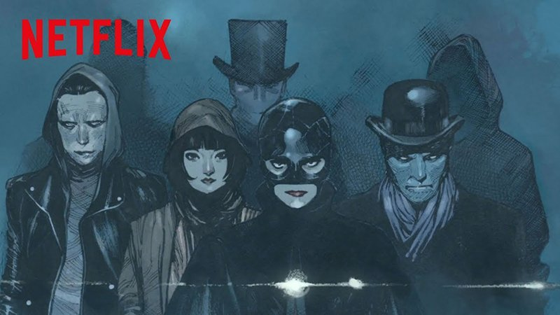 NETFLIX, MILLAR & COIPEL's THE MAGIC ORDER Trailer