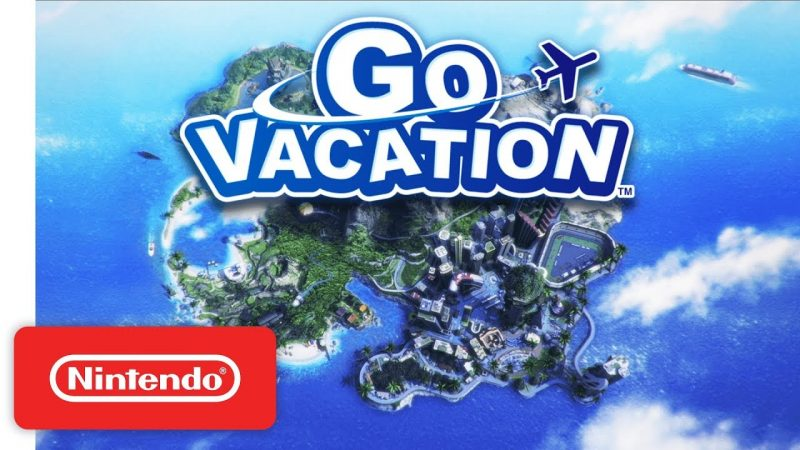Get In The Holiday Mood With Bandai Namco's Go Vacation For Switch