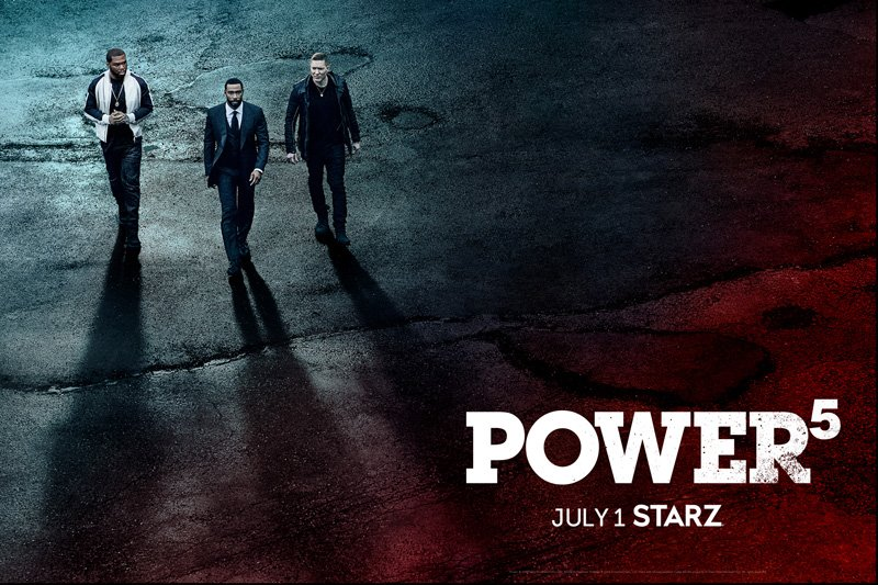 Starz Releases Power Season 5 Trailer and Teaser Art