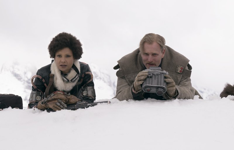 Video: Woody Harrelson and Thandie Newton on Solo