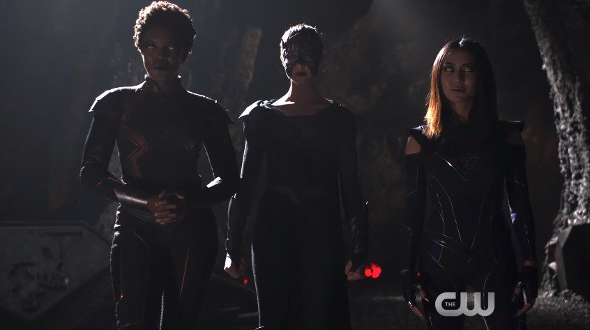 The Three Worldkillers Assemble in New Supergirl Promo