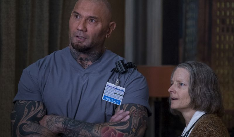 CS Video: Jodie Foster, Dave Bautista and Drew Pearce on Hotel Artemis