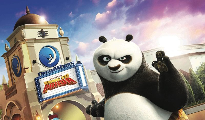 Get a First Look at the New Kung Fu Panda: The Emperor's Quest Attraction!