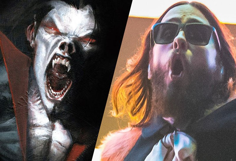 Jared Leto sinking teeth into Marvel's Morbius the Living Vampire