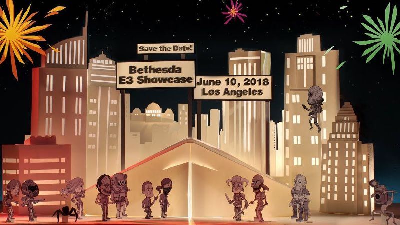Watch the Bethesda E3 2018 Showcase Live Stream
