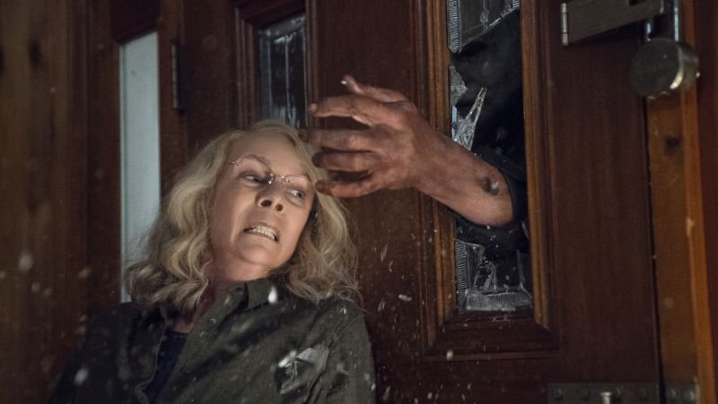 First 'Halloween' Trailer Rewrites Franchise and Laurie Strode Is Out for Revenge class=