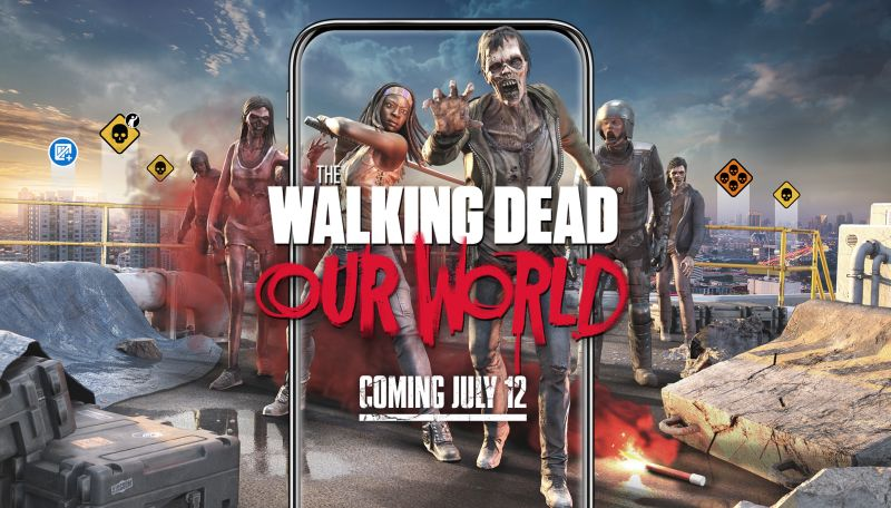 The Walking Dead Mobile Game Coming in July For Android and iOS