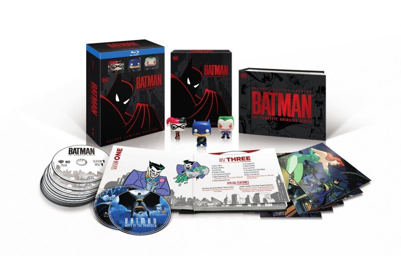 Batman: The Animated Series Getting Limited Edition Box Set!