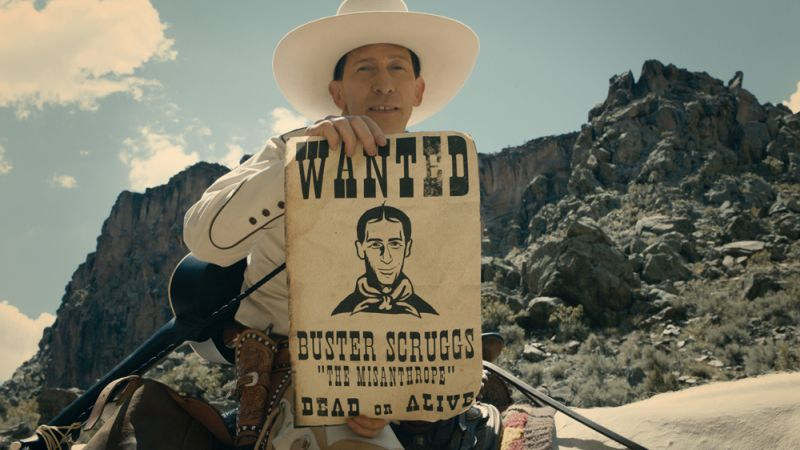 Coen Brothers' The Ballad of Buster Scruggs is Now a Movie