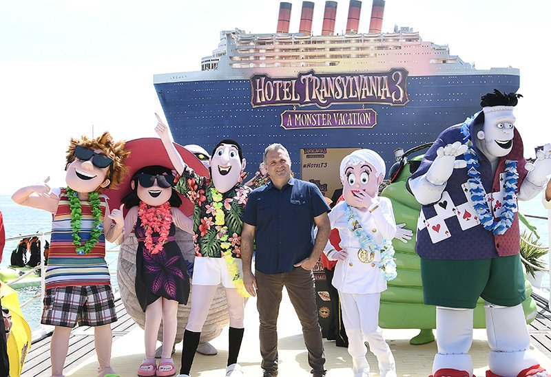 Genndy Tartakovsky Talks America's #1 Movie, Hotel Transylvania 3