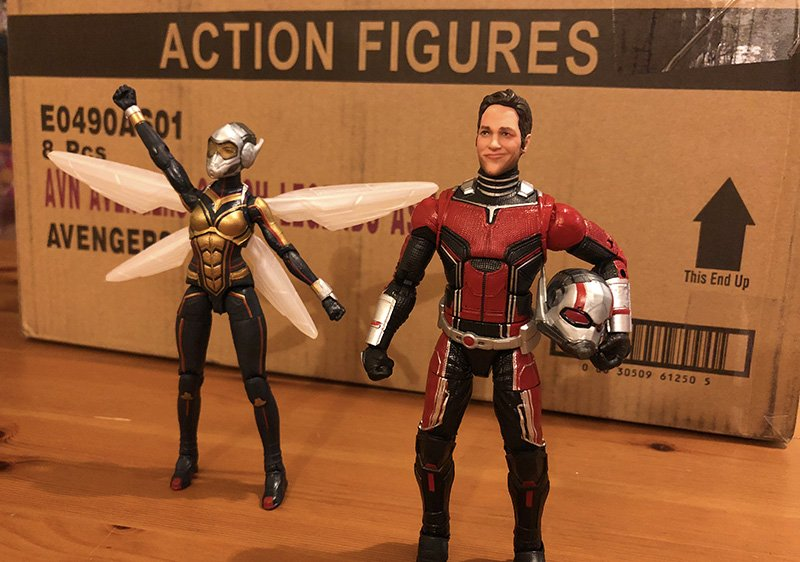 Avengers, X-Men and Ant-Man Marvel Legends Unboxing!