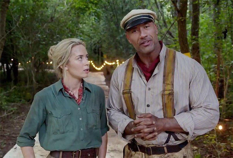 Dwayne Johnson And Emily Blunt Hype Jungle Cruise In A New Video