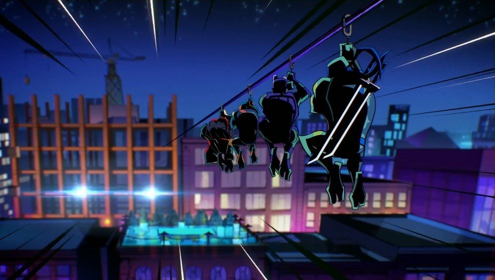 Rise of the Teenage Mutant Ninja Turtles Comic-Con Trailer & Sneak Peek