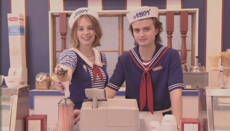 New Stranger Things Video Goes To The Mall