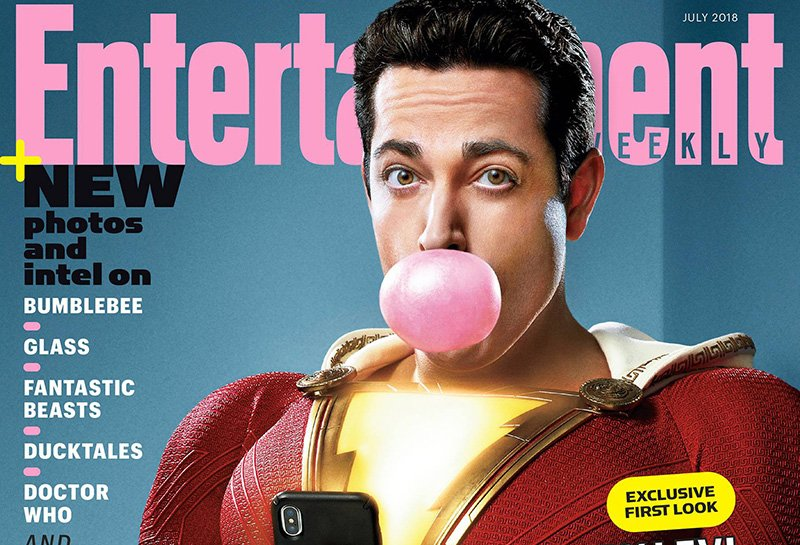 Shazam! Entertainment Weekly Cover, Plus New Photo!