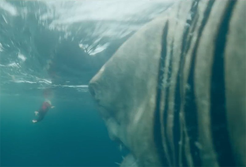 New The Meg TV Spot Pursues Its Lunch