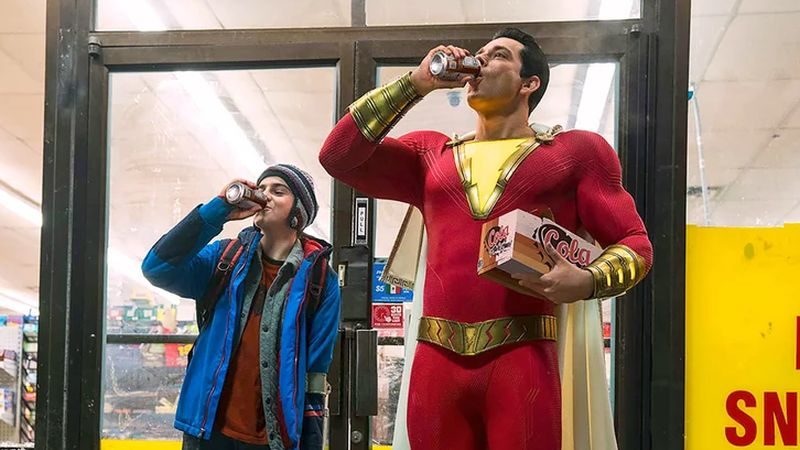 Zachary Levi's Costume Revealed in Shazam! Photo