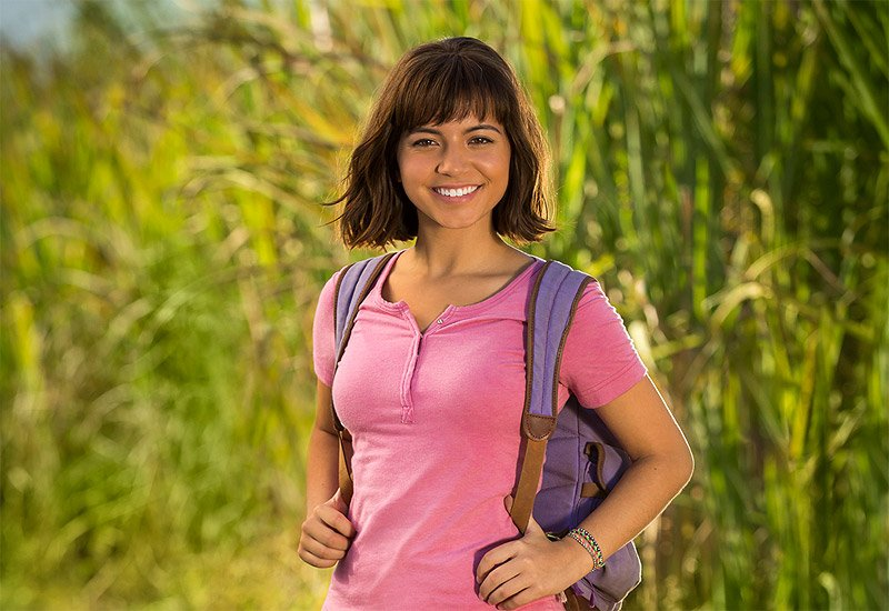 Isabela Moner Appears as Dora the Explorer in Film's 1st Pic