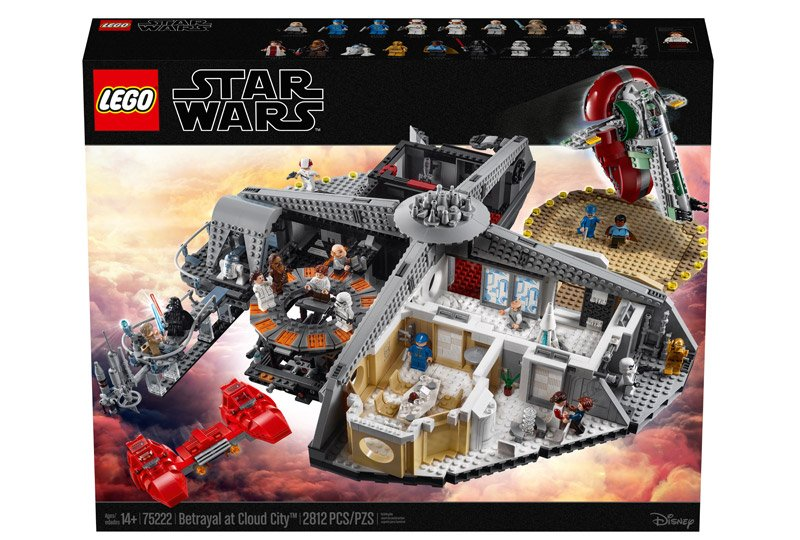 LEGO Star Wars: Betrayal at Cloud City Set Revealed