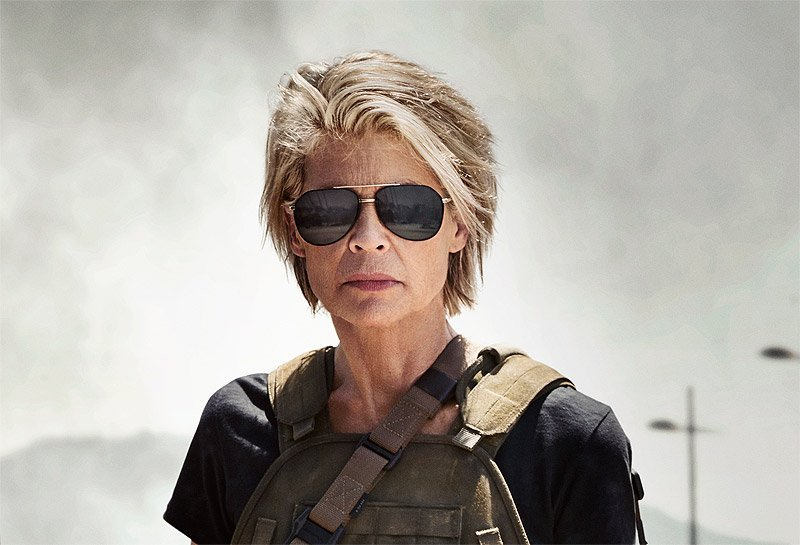 First Official 'Terminator 6' Photo Has Sarah Connor Leading New Trio