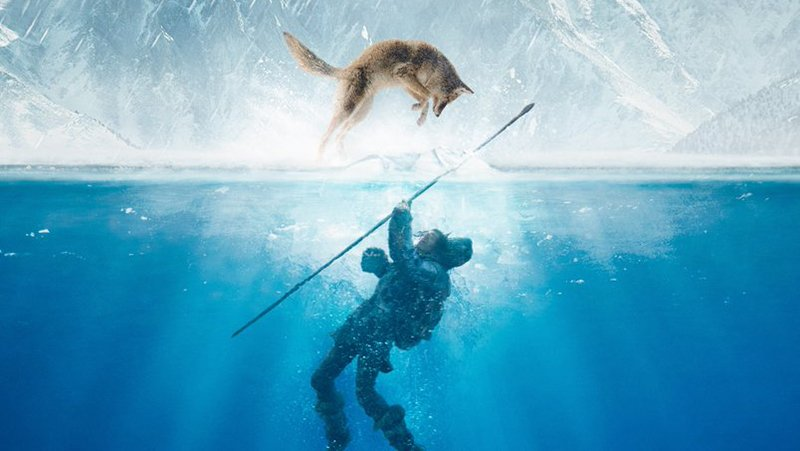 The Alpha IMAX Poster Reveals How Mankind Discovered Man's Best Friend