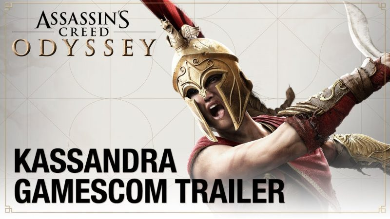 Assassin's Creed Odyssey Trailers Focus on Living Legends
