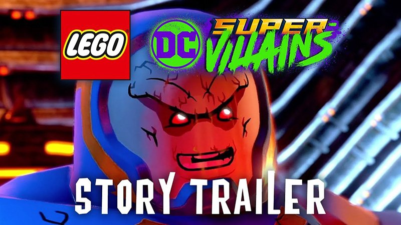 LEGo DC Super-Villains Story Trailer Released!