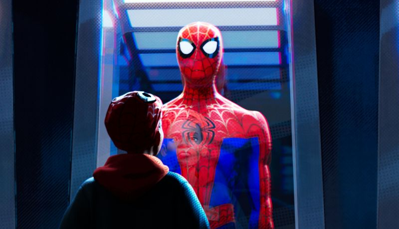 New Into the Spider-Verse Image Shows Off Peter's Different Spidey Suits
