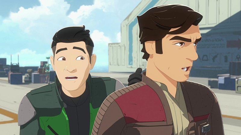 Disney's Star Wars Resistance First Look Trailer Released!