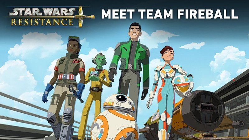 Star Wars Resistance Video Introduces The Cast; New Poster Released