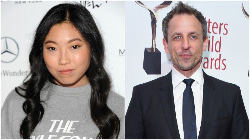 Awkwafina, Seth Meyers To Host Saturday Night Live in October