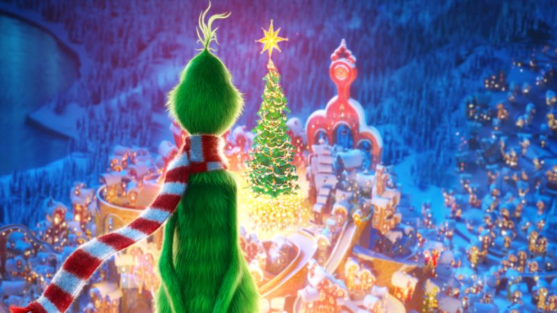 Third Trailer for Illumination's 'The Grinch' with Benedict Cumberbatch