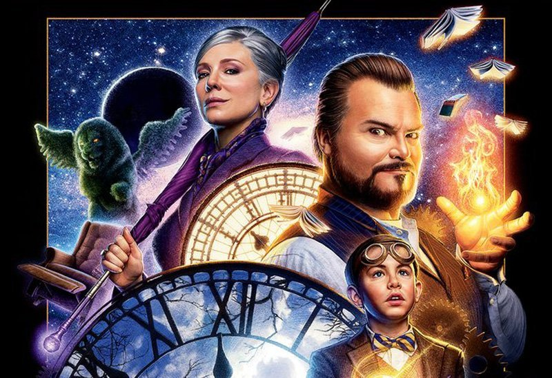 Old School The House With a Clock in its Walls IMAX Poster Arrives