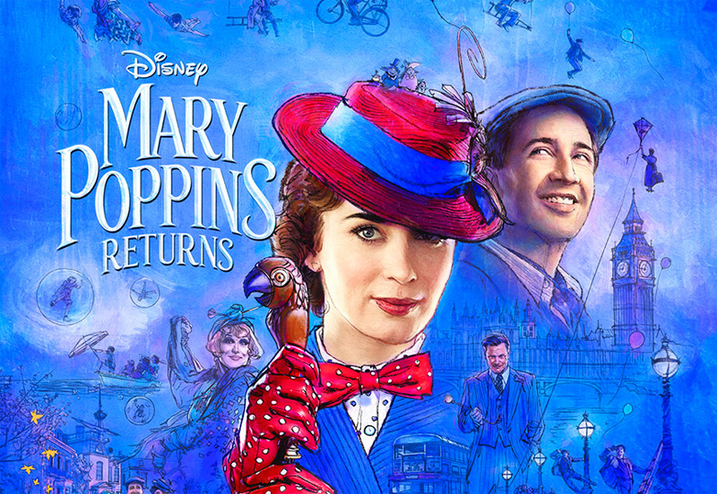 Supercalifragilistic New Mary Poppins Returns Trailer and Poster!