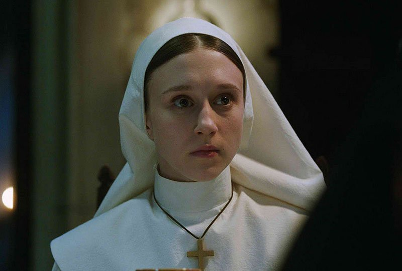 Exclusive: The Nun's Taissa Farmiga on Sister Irene's Conjuring Connection