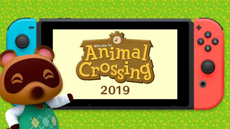 Animal Crossing and Luigi's Mansion 3 announced for Nintendo Switch