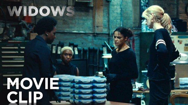Widows: new clip pull this off