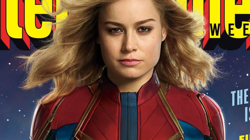 First Official Look at Brie Larson as Captain Marvel Revealed!