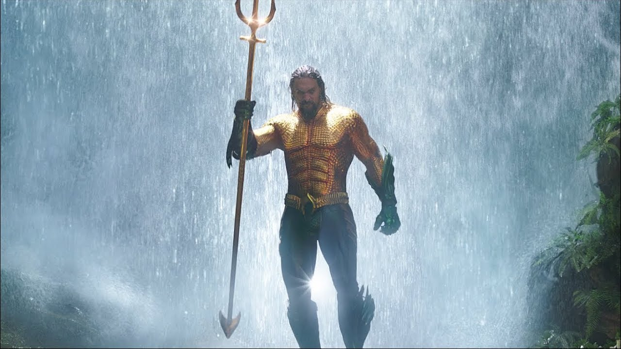 Aquaman makes waves
