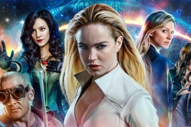 Get Ready to Do Some Time in New DC's Legends of Tomorrow Poster